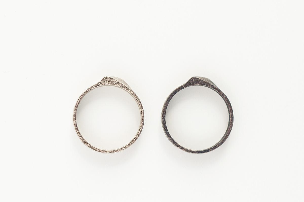 anillo helix acero